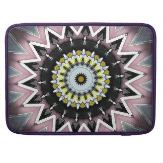 Kaleidoskop-Entwurf Macbook Prohülsen Sleeves Für MacBook Pro