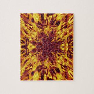 Kaleidoskop-Feuer-Explosion Puzzle