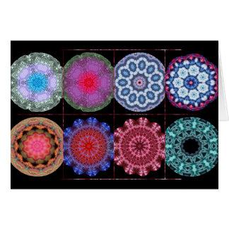 Kaleidoskop-Gemisch Karte