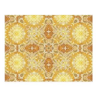 Kaleidoskop Kreations Zitronen-Tapisserie 1 Postkarten