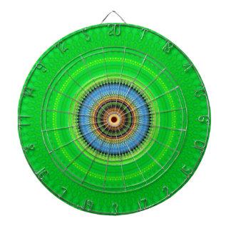 Kaleidoskop-Mandala in Portugal: Muster 224,5 Dartscheibe