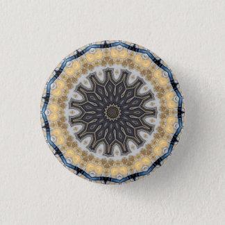 Kaleidoskop-Mandala in Wien: Muster 220,10 Runder Button 2,5 Cm