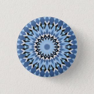 Kaleidoskop-Mandala in Wien: Muster 220,1 Runder Button 3,2 Cm