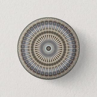 Kaleidoskop-Mandala in Wien: Muster 220,4 Runder Button 3,2 Cm