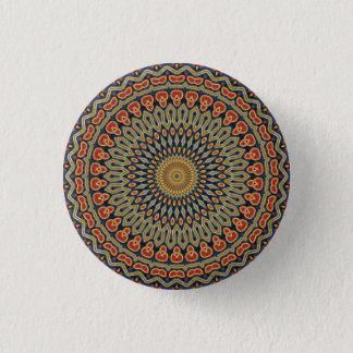 Kaleidoskop-Mandala in Wien: Muster 220,6 Runder Button 2,5 Cm