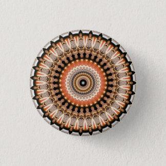 Kaleidoskop-Mandala in Wien: Muster 220,7 Runder Button 2,5 Cm