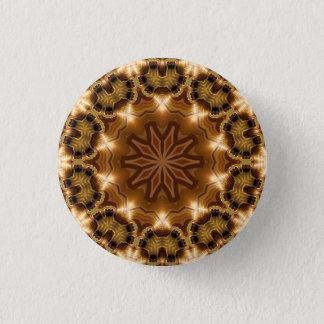 Kaleidoskop-Mandala in Wien: Muster 221,3 Runder Button 2,5 Cm