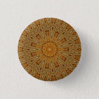 Kaleidoskop-Mandala in Wien: Muster 221,4 Runder Button 3,2 Cm