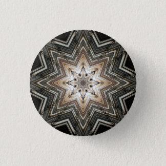 Kaleidoskop-Stern-Mandala in Wien: Muster 221,2 Runder Button 3,2 Cm