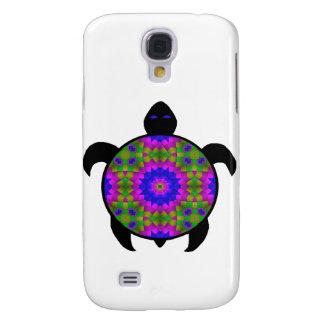 Kaleidoskopischer Mandala-Schildkröte-Entwurf Galaxy S4 Hülle