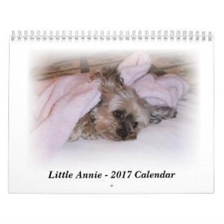 Kalender 2017 von 5 lbs Yorkie, das auf Befehl