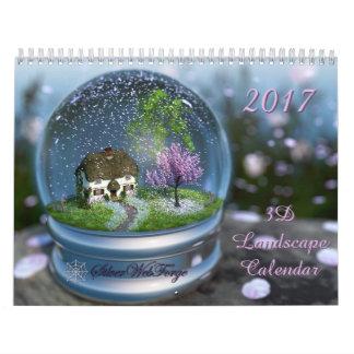 Kalender der Landschaft2017 3D