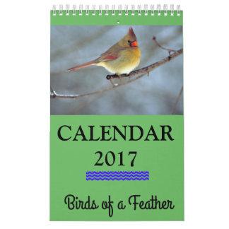 Kalender des Birds- of a Feather2017
