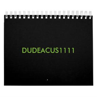 Kalender DUDEACUS1111
