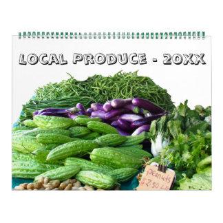 Kalender - lokales Erzeugnis für dieses Jahr Wandkalender