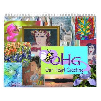 Kalender ~ Mitgliedstaat-Künstler-2012