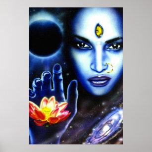 Kali - Zyklen des Leben-Plakats Poster