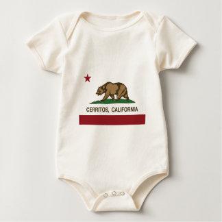 Kalifornien-Flagge cerritos Baby Strampler