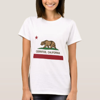 Kalifornien-Flagge cerritos T-Shirt