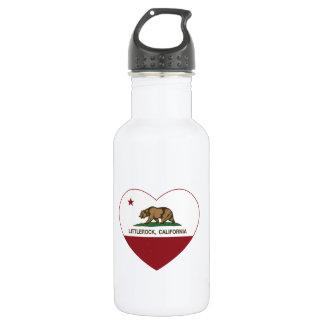 Kalifornien-Flagge littlerock Herz Trinkflaschen