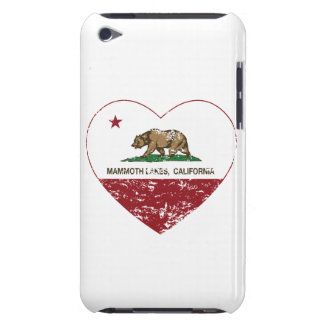 Kalifornien-Flaggenmammutseeherz beunruhigt iPod Touch Cover