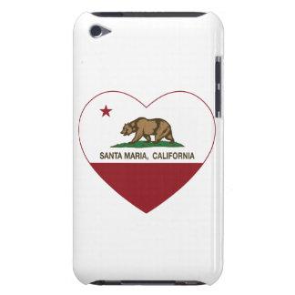Kalifornien-Flaggensanta- mariaherz iPod Touch Etuis