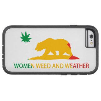 Kalifornien-Frauen Unkraut und Wetter-Flagge Tough Xtreme iPhone 6 Hülle