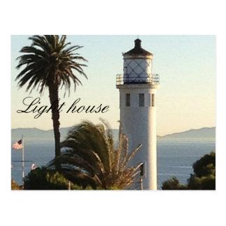 Kalifornien-Leuchtturm Postkarte