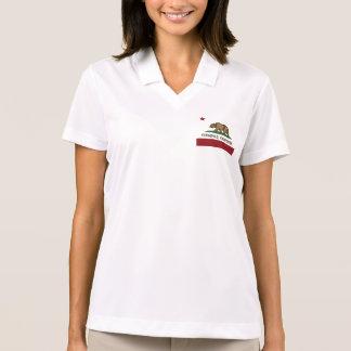 Kalifornien-Republik-Flagge Ferndale Polo Shirt