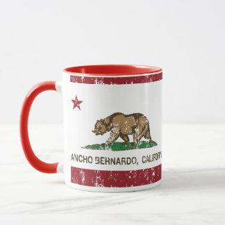 Kalifornien-Republik-Flagge Rancho Bernardo Tasse