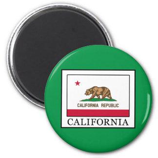 Kalifornien Runder Magnet 5,1 Cm