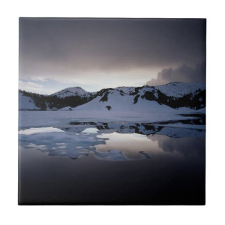 Kalifornien, Sierra Nevada-Berge 13 Kleine Quadratische Fliese