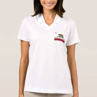 Kalifornien-Staats-Flagge Beverly Hills Polo Shirt