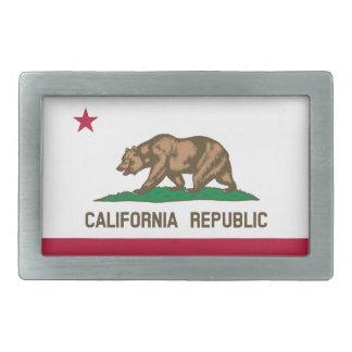 Kalifornien-Staats-Flagge Rechteckige Gürtelschnallen