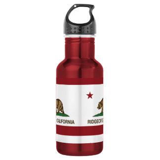 Kalifornien-Staats-Flagge Ridgecrest Trinkflaschen