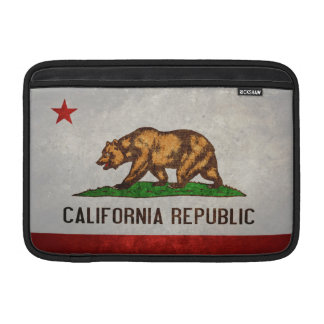 Kalifornien-Staats-Flagge Sleeves Fürs MacBook Air