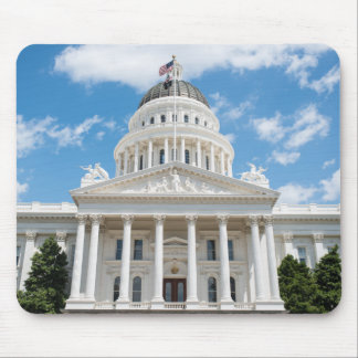 Kalifornien-Staats-Hauptstadt in Sacramento Mauspad