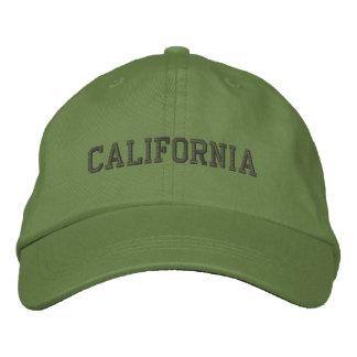 Kalifornien stickte justierbaren Kappen-Kaktus Bestickte Kappen