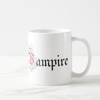 Kalligraphischer Vampir Tasse
