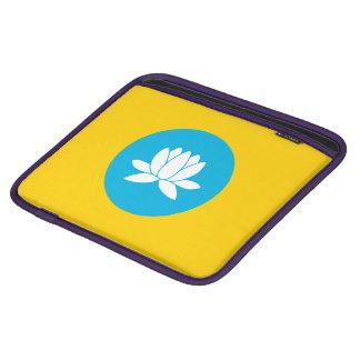 Kalmückien kennzeichnen iPad sleeves