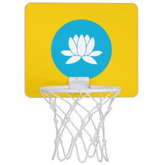 Kalmückien kennzeichnen mini basketball ring