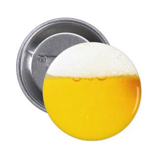 Kalter geschmackvoller Bier-Knopf Runder Button 5,7 Cm