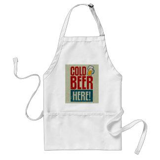 Kaltes Bier Schürze