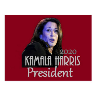 Kamala Harris Präsident 2020 Postkarte