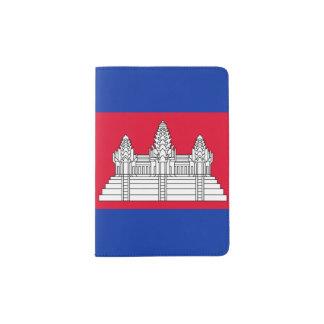 Kambodscha-Flagge Passhülle