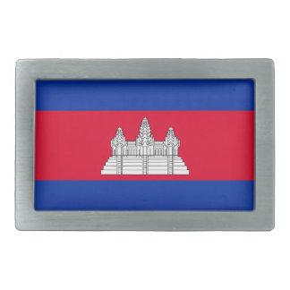 Kambodscha-Flagge Rechteckige Gürtelschnallen