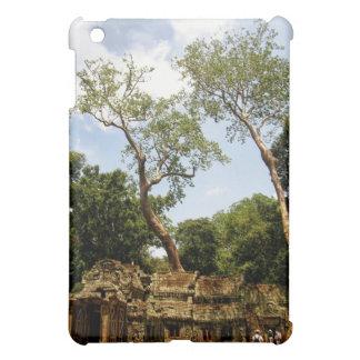 Kambodscha: Tempel u. Bäume iPad Fall iPad Mini Hülle
