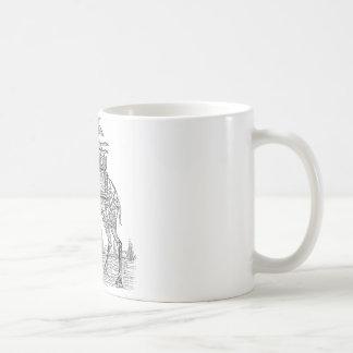 Kamel Kaffeetasse