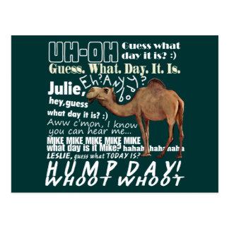 Kamel-Vermutung welcher Tag Postkarte