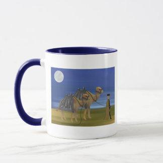 Kamel-Wohnwagen Tasse
